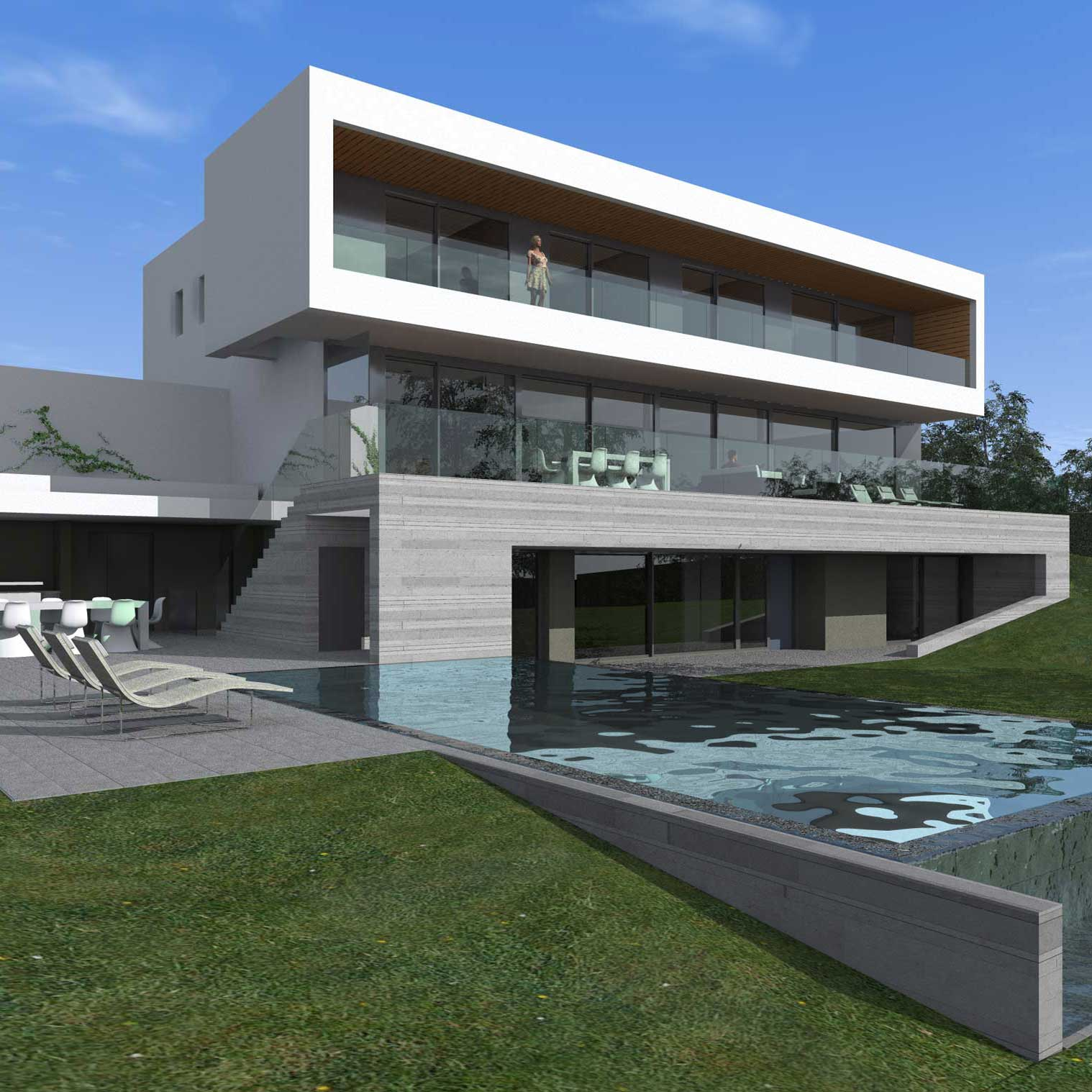 Villa individuelle corsier 2014 2015 for Villa individuelle
